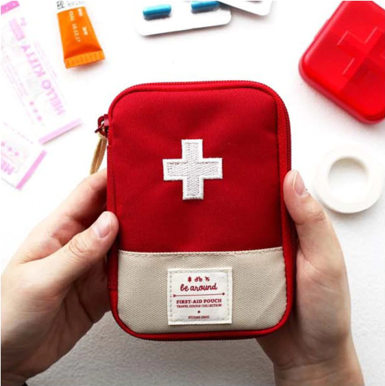 A mini first-aid kit that fits in any bag